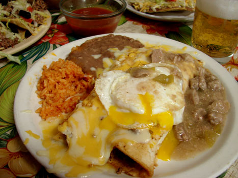 Menu for El Rancho Cafe for Authentic Mexican Food in Holcomb Kansas